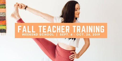 Fall Yoga Teacher Training