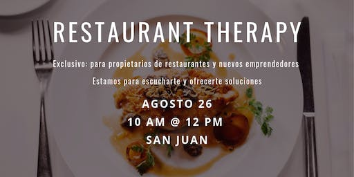 The Restaurant Therapy