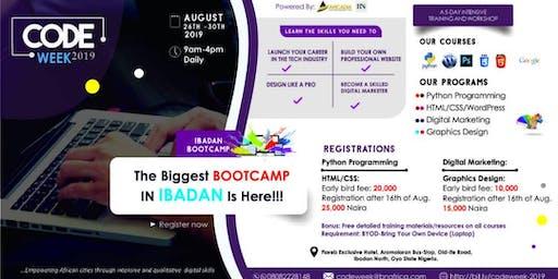 Code WeeK 2019 Ibadan