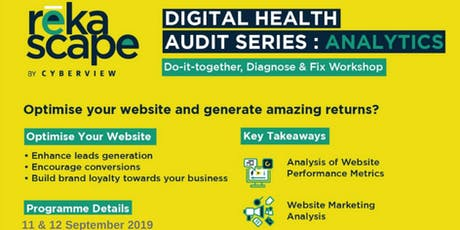 Digital Health Audit: Analytics  tickets