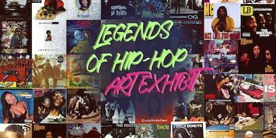 FREE EVENT : LEGENDS OF HIP-HOP ART EXHIBIT