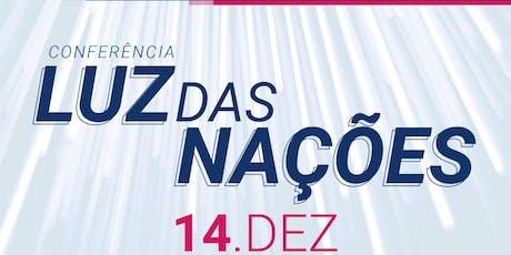 Conferência Luz das Nações ingressos