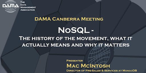 NoSQL:The history of the movement,what it actually means and why it matters
