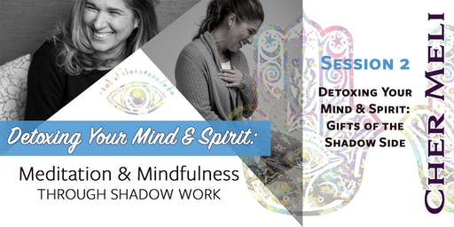 Detoxing Your Mind & Spirit: Gifts of the Shadow Side (Session 2 of 3)