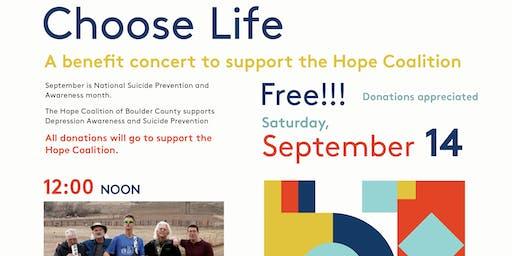Choose Life: A benefit concert ft. Lakota Ridge and Boulder Big Band