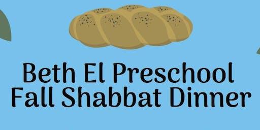 BEPS Fall Shabbat Dinner