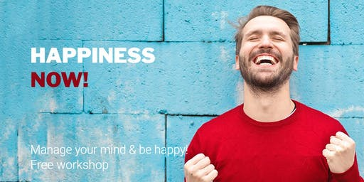 Manage your mind & be happy :-)  Mind & Meditation Free workshop