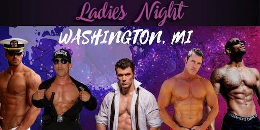 Washington, MI. Magic Mike Show Live. Jake O'Malley's