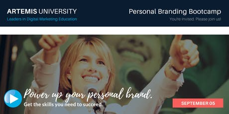 Personal Branding Bootcamp tickets