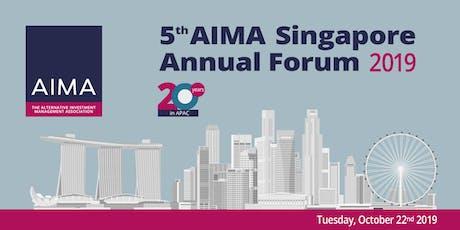 AIMA Singapore Annual Forum 2019 tickets