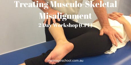 Treating Musculo-Skeletal Misalignment - CPE Event (14hrs) tickets