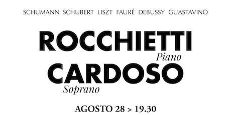 ROCCHIETTI - CARDOSO recital de piano y canto | Clásicos en Academia 2019 entradas