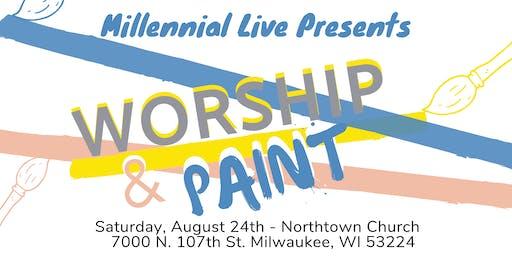 Worship & Paint: A Creative Worship Experience