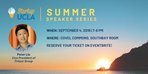 Summer Speaker Series: Peter Liu