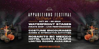 APPARITIONS FESTIVAL 2019 - HALLOWEEN WEEKEND