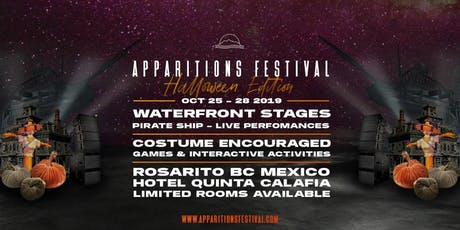 APPARITIONS FESTIVAL 2019 - HALLOWEEN WEEKEND tickets