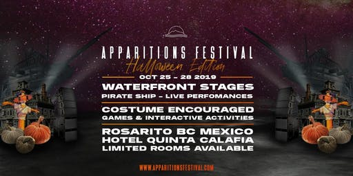 APPARITIONS FESTIVAL 2019 - HALLOWEEN WEEKEND