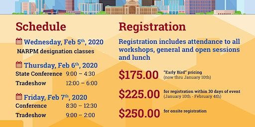 Texas State NARPM Conference Registration