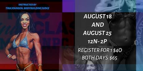 Figure and Bikini Posing Workshop tickets