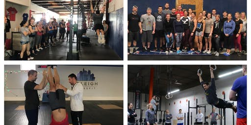 Gymnastics Clinic Part 2 at CrossFit Raynham