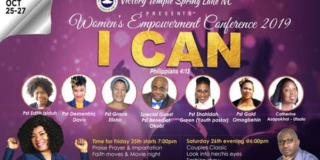 """I CAN"" WOMEN'S CONFERENCE 2019 tickets"