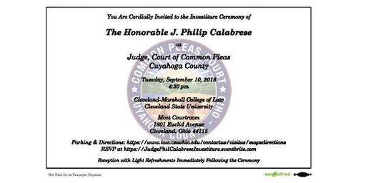 Investiture of Judge Phil Calabrese