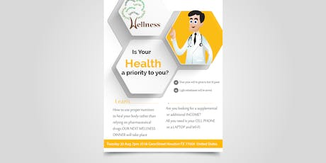 Is your health a priority to you?  Learn how to use proper nutrition to hea tickets