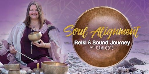 November Soul Alignment Reiki and Sound Journey