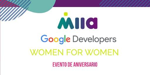 MIIA WOMEN FOR WOMEN (Evento exclusivo para mujeres)