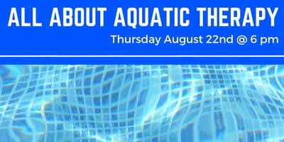 All About Aquatic Therapy
