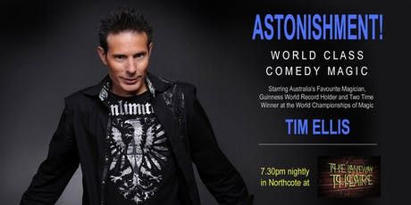 Astonishment! World Class Comedy Magic tickets