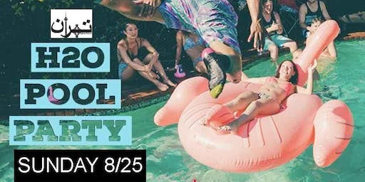 BACK 2 POOL PARTY - W HOTEL HOLLYWOOD - SUN 8/25