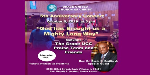 """5th Anniversary Concert """"God has Brought us a Mighty Long Way"""""""