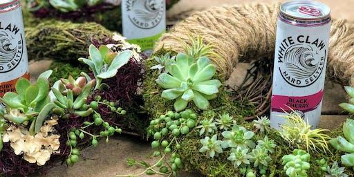 Seltzer and Succulents Workshop