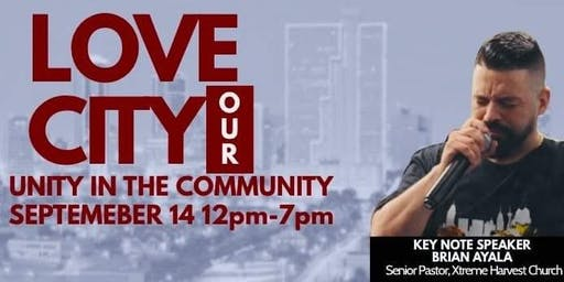 Love Our City Unity In The Community