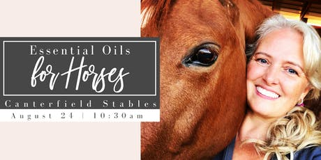 Essential Oils for Horses tickets
