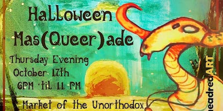 Halloween Mas(Queer)ade at Market of the Unorthodox tickets