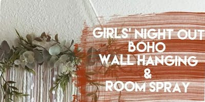 Boho Wall Hanging & Essential Oil Room Spray