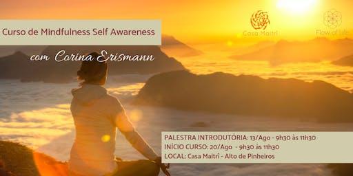 Programa Introdutório de Mindfulness - Self Awareness (Ago/2019)