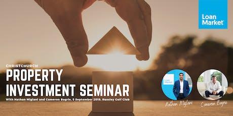 Christchurch Property Investment Seminar tickets
