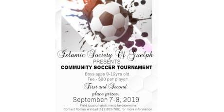 Community Soccer Tournament tickets