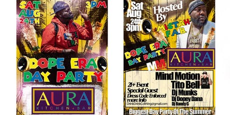 Mistah FAB's Dope Era Day Party Inside Of Aura Downtown San Jose  tickets