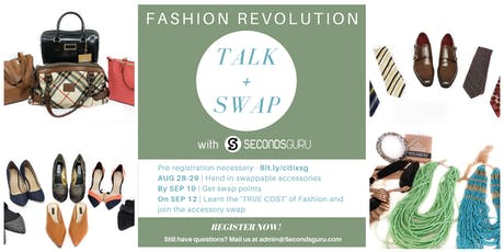 Fashion Revolution | An introduction + Accessory Swap tickets