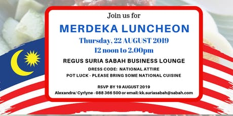 Regus Merdeka Luncheon tickets