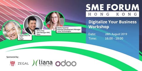 SME Forum HK: Digitalize your Business tickets