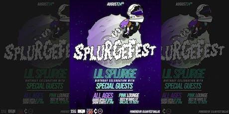 SplurgeFest tickets