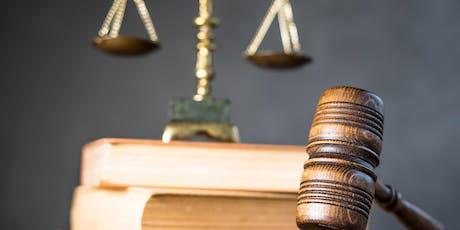 Interactive Legal Sentencing Workshop with Monash University tickets