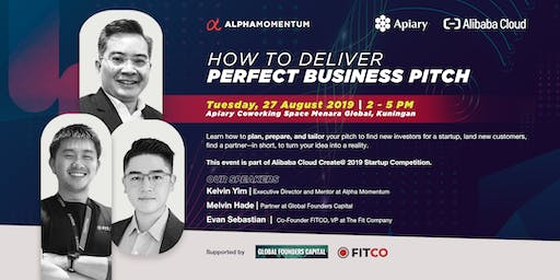How to Deliver the Perfect Business Pitch by Alpha Momentum