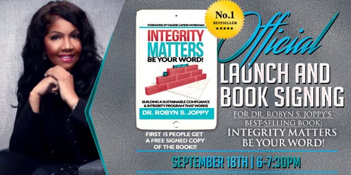 Dr. Robyn S. Joppy's Official Launch and Book Signing