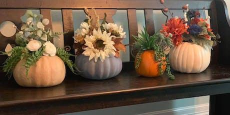Fall Workshop: Floral Pumpkin Centerpieces tickets